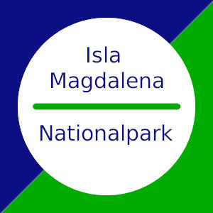 Nationalpark Isla Magdalena in Patagonien