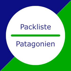 Patagonien: Packliste