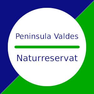 Peninsula Valdes Naturreservat in Patagonien